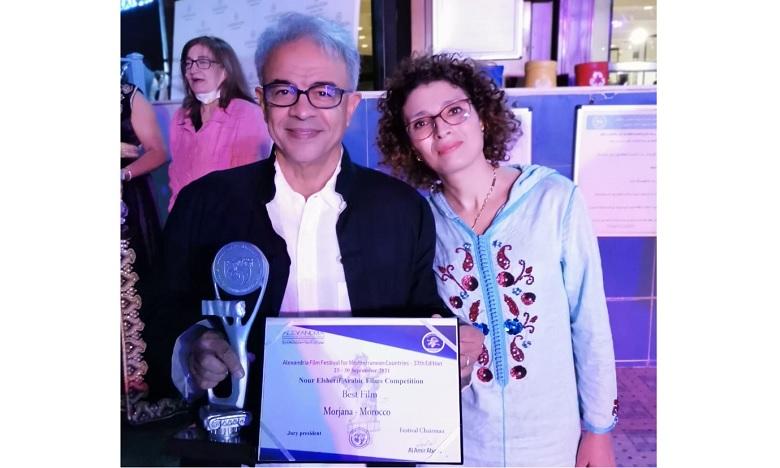 Jamal Souissi reçoit le Prix du meilleur film arabe au Festival du cinéma méditerranéen d'Alexandrie