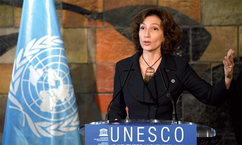 Mme Audrey Azoulay reconduite à la tête de l'UNESCO