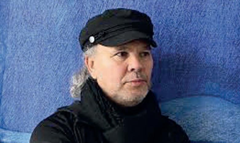 L'artiste Najib Cherradi.