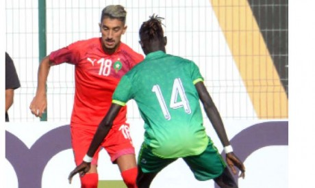 Mohamed El Khaloui a été très précieux dans l'animation offensive face au Soudan du Sud, même s'il n'a pas trouvé le chemin des filets.
