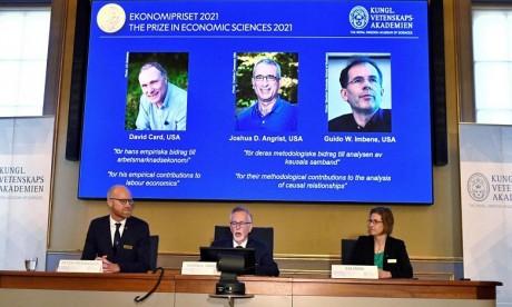 Le Nobel d'économie attribué à un trio de spécialistes de l'économie expérimentale