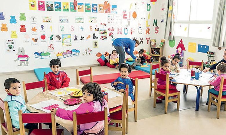 Le PLF 2022 accorde une attention particulière à l'accélération de la généralisation de l'enseignement préscolaire.