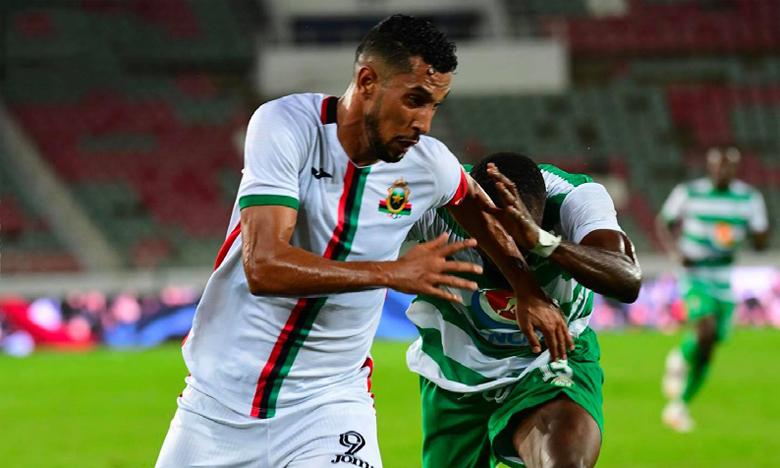 Les militaires (ici face aux Buffles FC du Bénin) devront rehausser leur niveau contre la JSK pour s'imposer et envisager le match retour dans la sérénité.