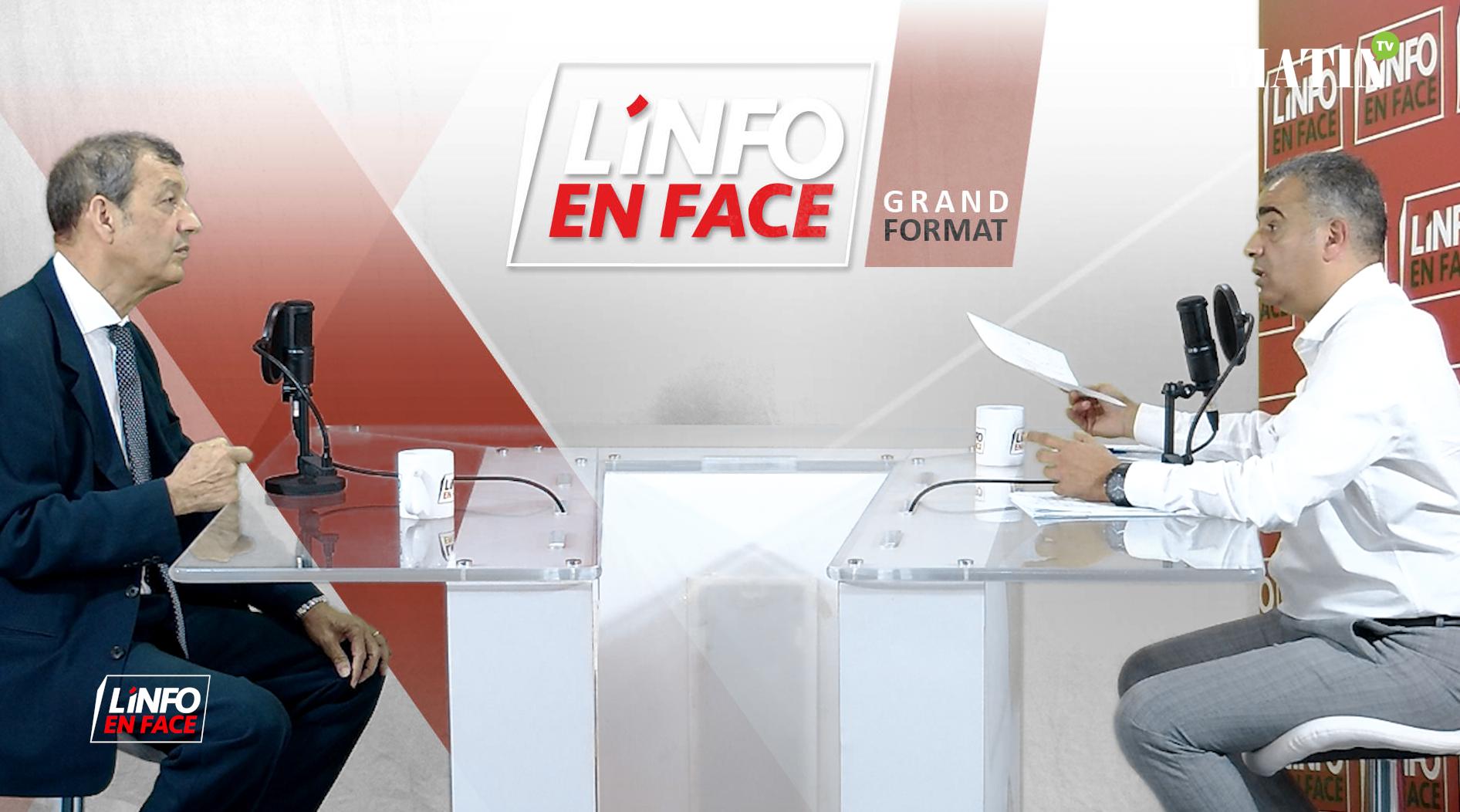 Live : L'Info en Face : le Grand Format avec Abdeladim Lhafi