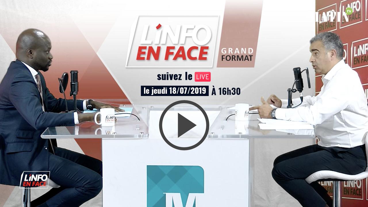 Live : L'Info en Face reçoit l'Ambassadeur du Sénéga