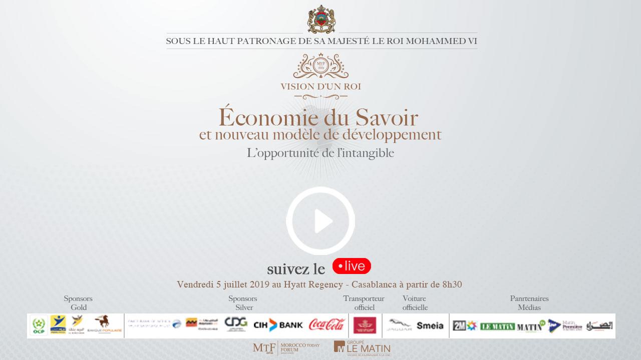 Live : MTF 2019 : L'Economie du Savoir au cœur du débat