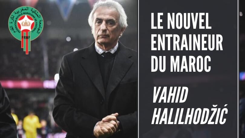 Live : Suivez en direct la présentation du nouveau sélectionneur national, Vahid Halilhodzic