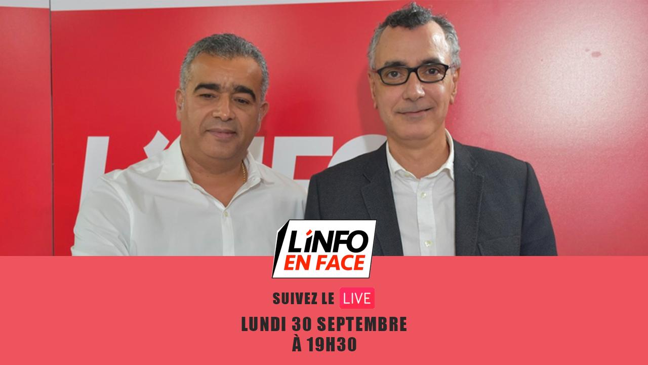 Live : L'Info en Face grand Format avec Ali Bouabid