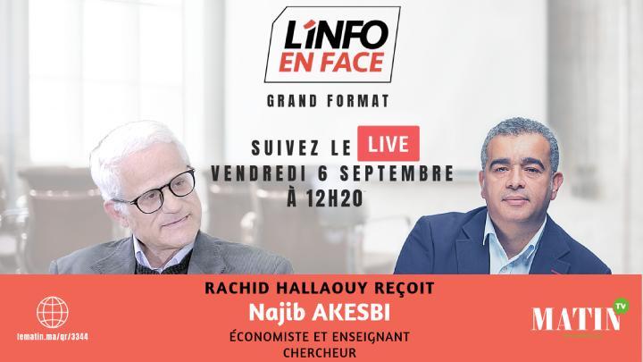Live : La rentrée économique sur L'info en Face...
