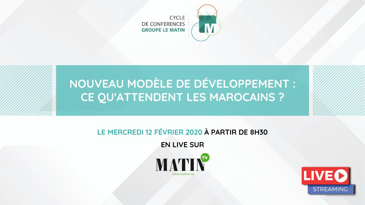 Live : Nouveau modèle de développement : Ce qu'attendent les Marocains