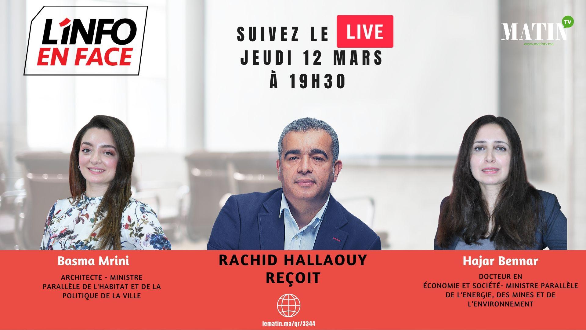 Live : L'Info en Face 100% jeunes avec Hajar Bennar et Basma Mrini