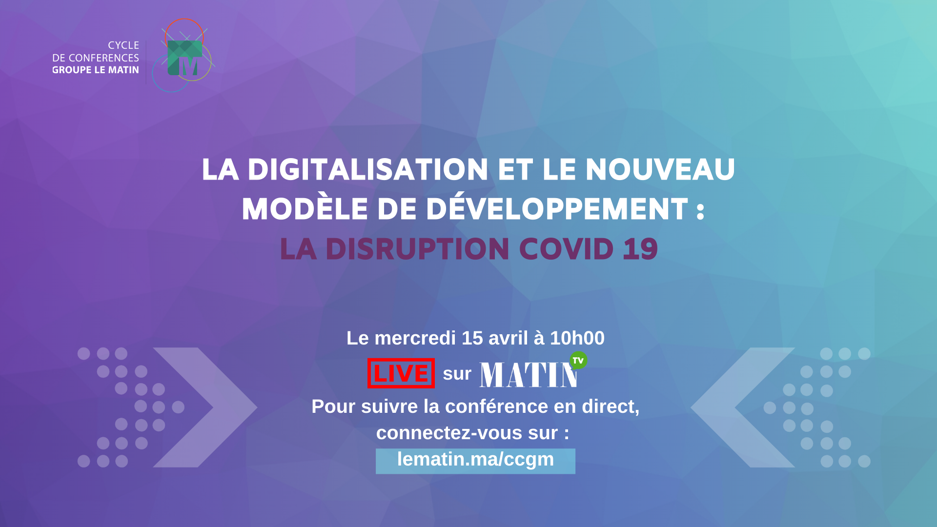 Live : Digitalisation et NMD, la disruption Covid19, en débat