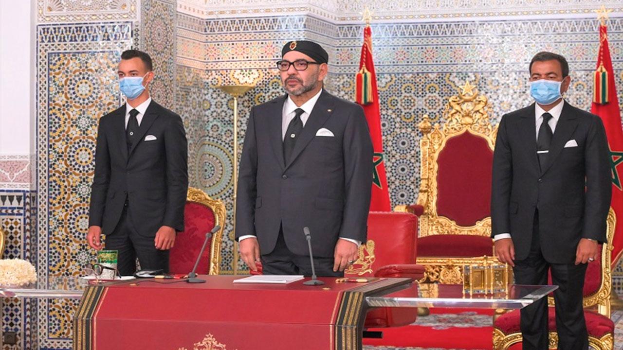 Live : S.M. le Roi adresse un Discours à la Nation à l'occasion du 67è anniversaire de la Révolution du Roi et du Peuple