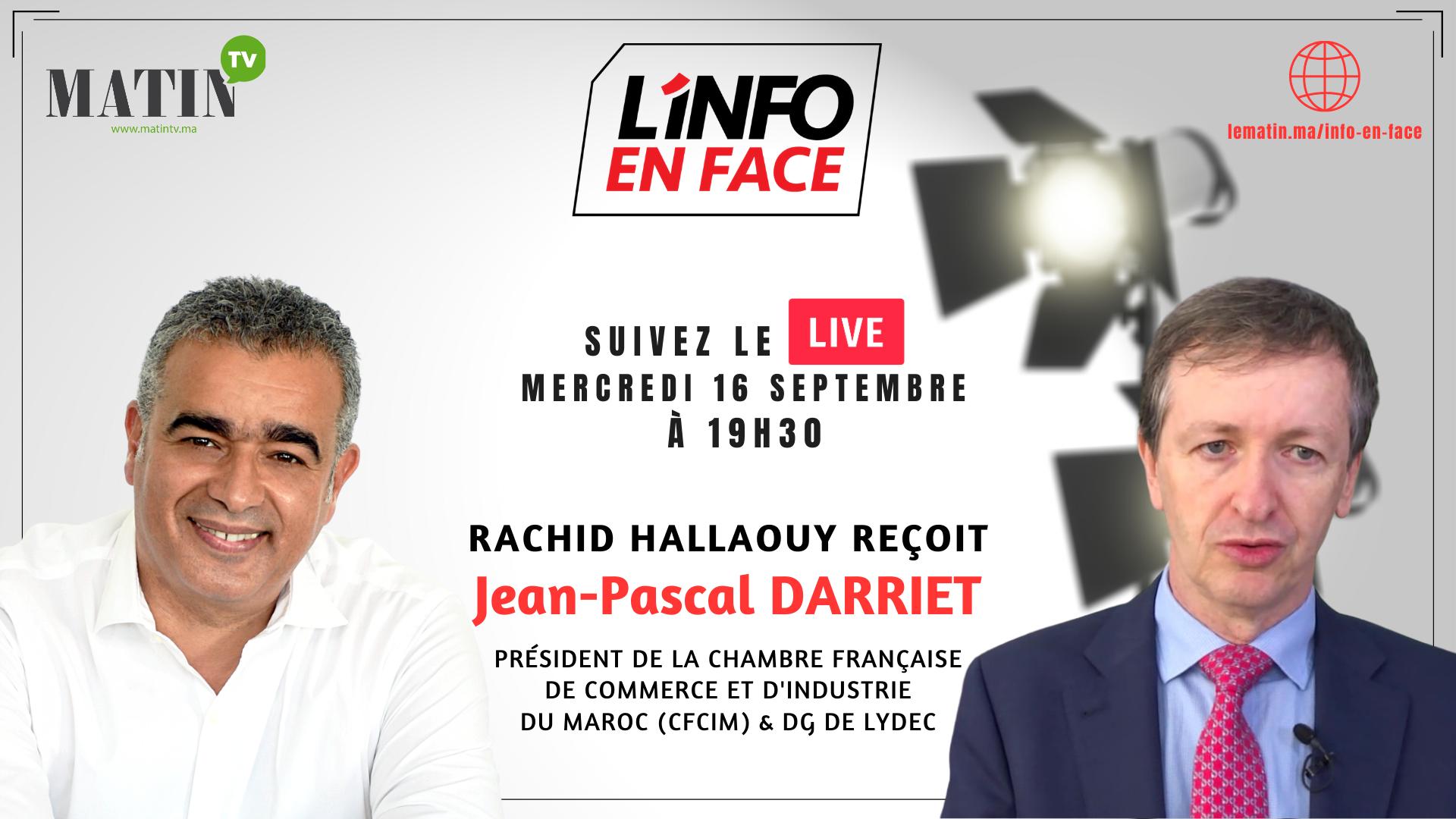 Live : L'Info en Face avec Jean-Pascal Darriet