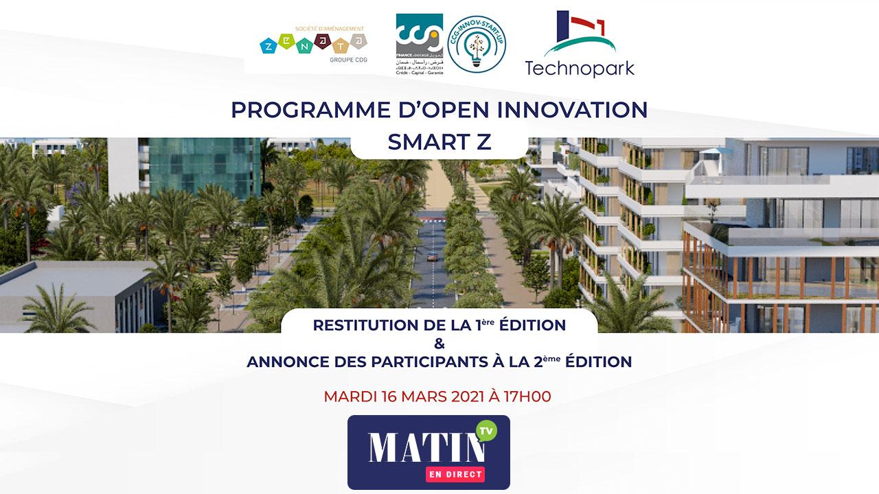 Live : Open Innovation Smart Z : Le programme fait son bilan et lance sa 2ème édition