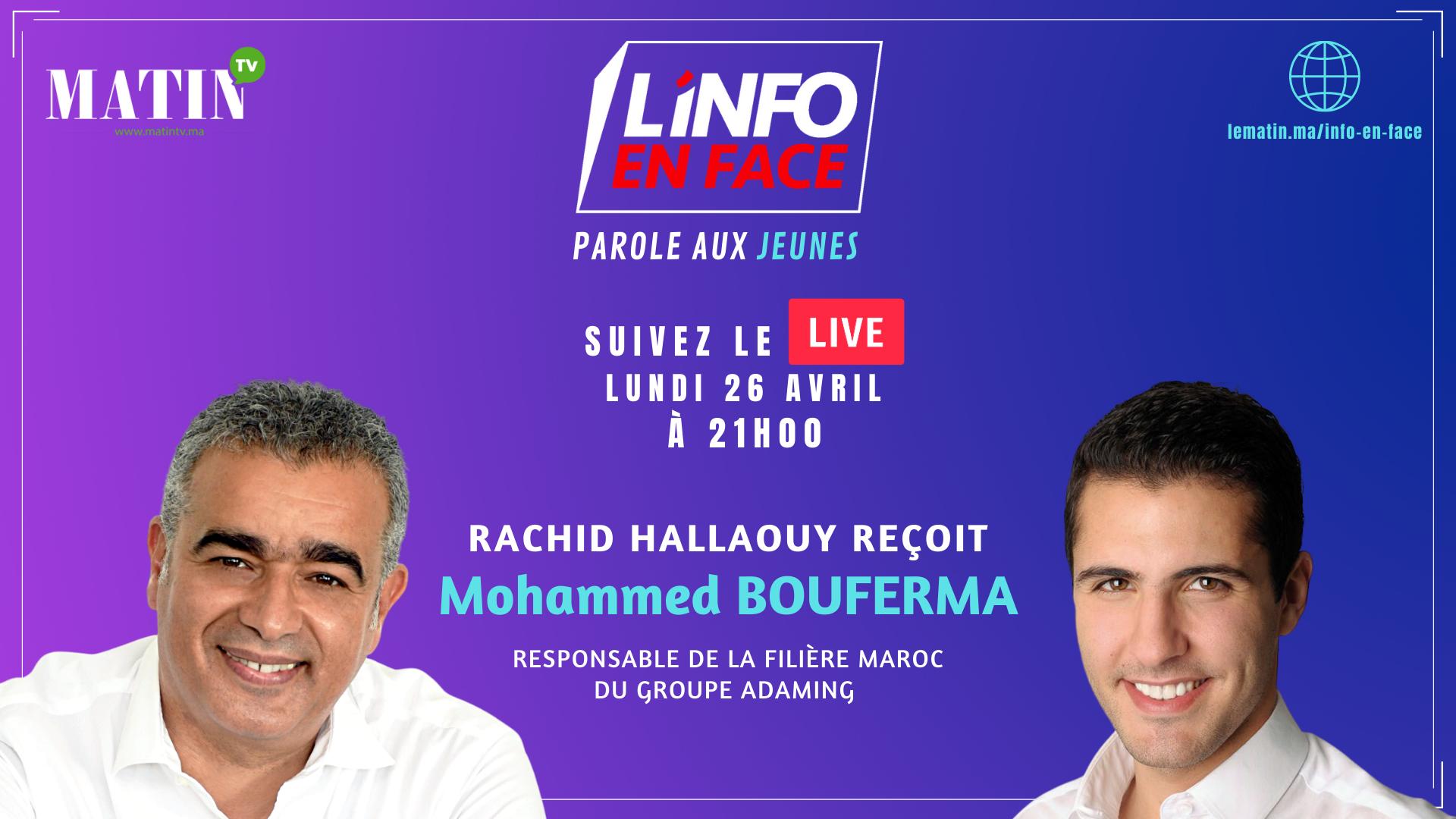 Live : L'Info en Face 100% jeunes