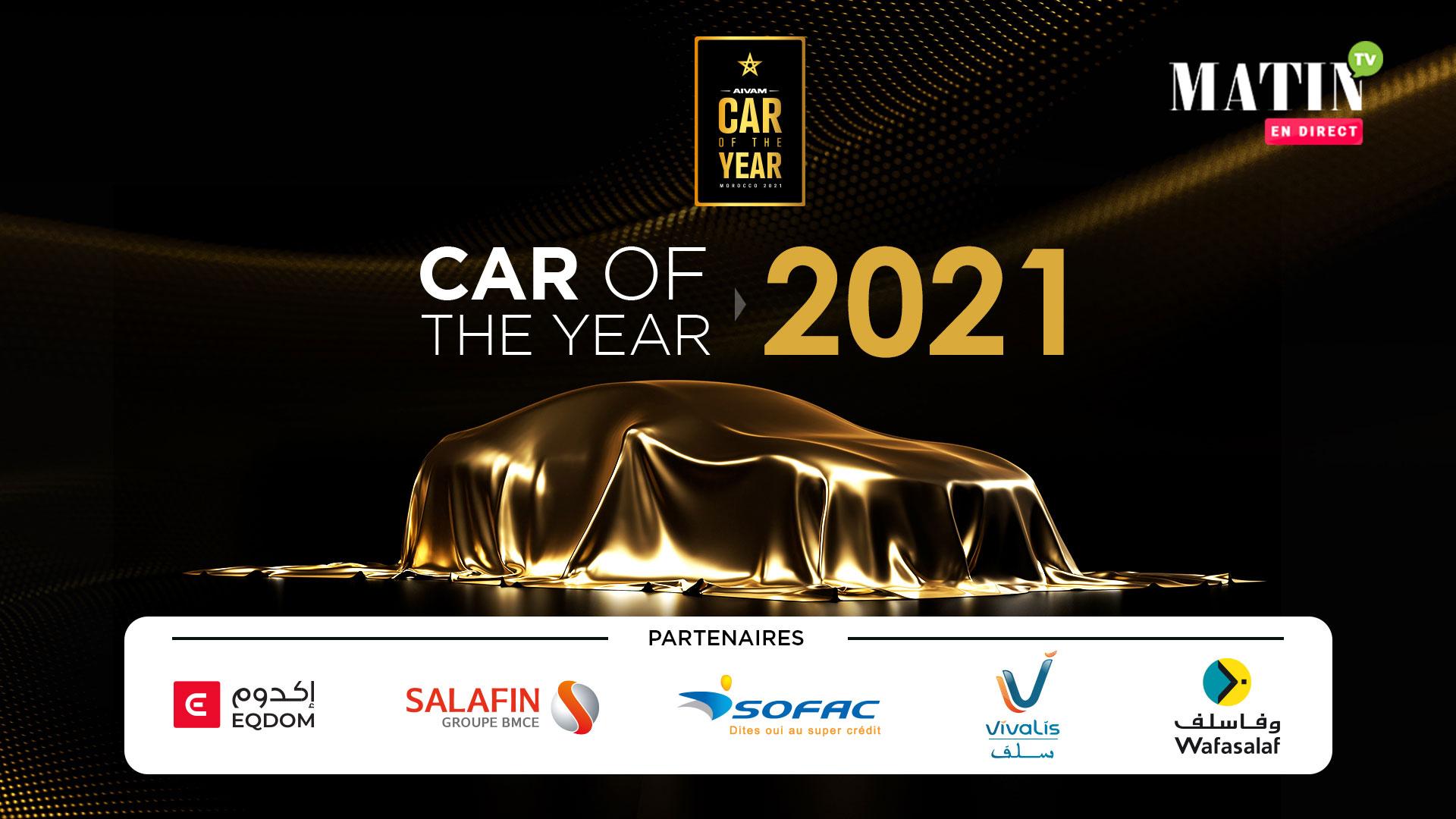 Live : « Car of the Year» by AIVAM : la voiture de l'année dévoilée aujourd'hui