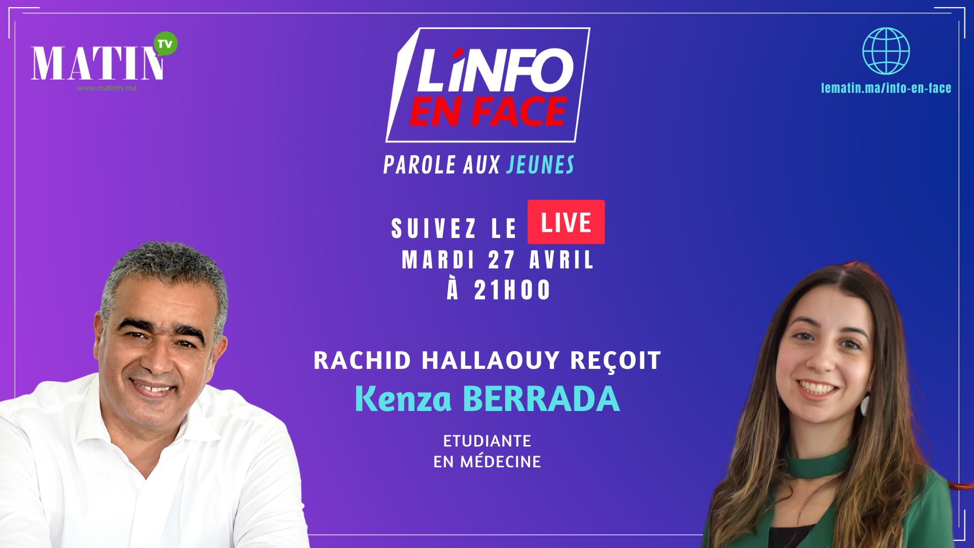 Live : L'Info en Face, parle aux jeunes