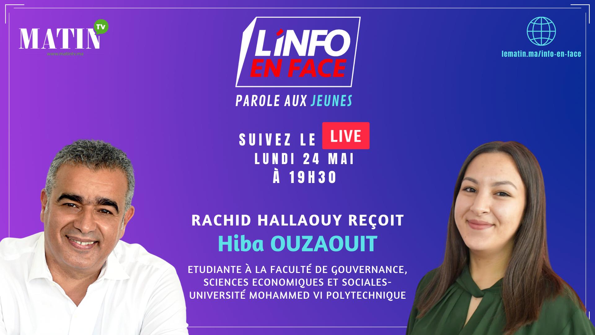 Live : L'Info en Face, la parole aux jeunes