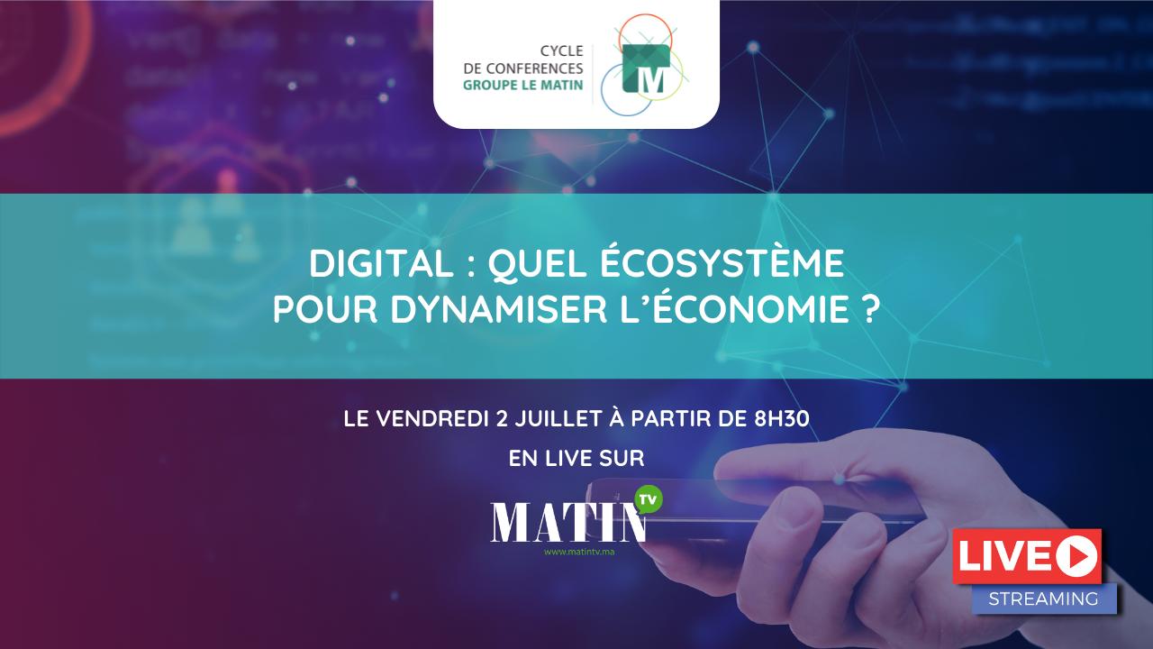 Live : Matinale 2 du CCGM : Quel écosystème digital pour dynamiser l'économie ?