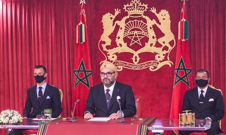 Live : S.M. le Roi adresse un discours à la Nation à l'occasion du 68è anniversaire de la Révolution du Roi et du Peuple