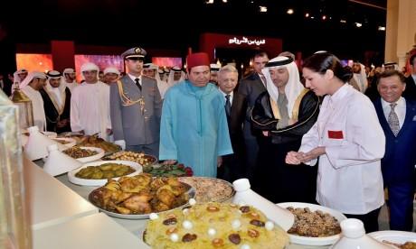 S.A.R. le Prince Moulay Rachid préside la cérémonie d'ouverture officielle de la 3e édition de l'événement «Le Maroc à Abu Dhabi»