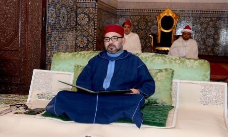 S.M. le Roi, Amir Al Mouminine, préside à Rabat, la première causerie religieuse du mois sacré de Ramadan