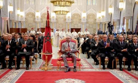 S.M. le Roi préside la cérémonie de présentation des programmes de valorisation des anciennes médinas de Rabat et de Marrakech et du programme complémentaire pour la valorisation de l'ancienne médina de Fès