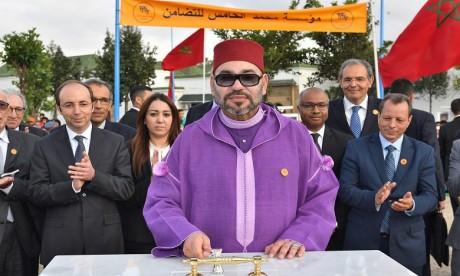 S.M. le Roi lance les travaux de construction d'un Centre de soins de santé primaires à Ain Chock à Casablanca