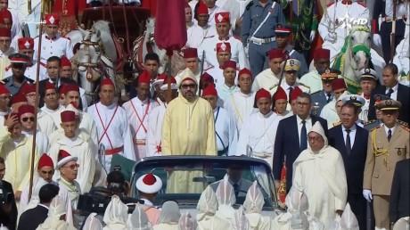 Video : S.M. le Roi, Amir Al Mouminine, préside à Tétouan la cérémonie d'allégeance