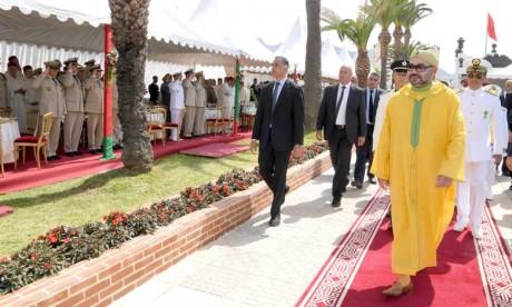 Video : S.M. le Roi reçoit les vœux de la famille des Forces Armées Royales