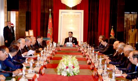 Video : S.M. le Roi Mohammed VI préside à Rabat un Conseil des ministres
