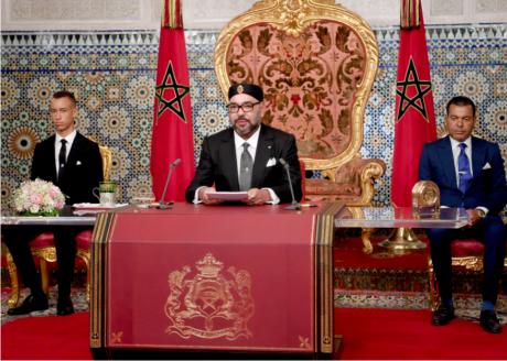 Video : S.M. le Roi adresse un discours à la Nation à l'occasion du 65e anniversaire de la Révolution du Roi et du Peuple