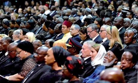 Video : S.A.R. le Prince Moulay Rachid représente S.M. le Roi aux funérailles de Kofi Annan