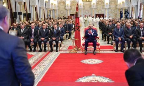 S.M. le Roi préside la cérémonie de lancement de la troisième phase de l'INDH