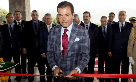 "Video : S.A.R. le Prince Moulay Rachid inaugure le ""Michlifen Golf and Country Club"""