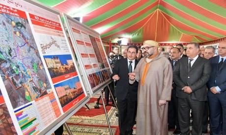 Forte Impulsion Royale pour la préservation et la mise en valeur des anciennes médinas de Marrakech, Essaouira, Salé, Meknès et Tétouan