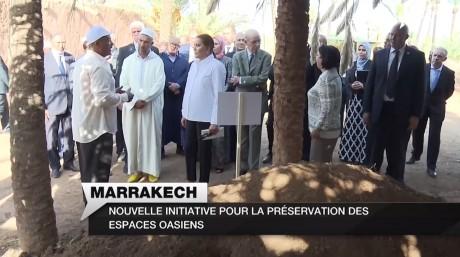 Video : S.A.R. la Princesse Lalla Hasnaa visite deux projets représentatifs du programme de sauvegarde et de développement de la Palmeraie de Marrakech