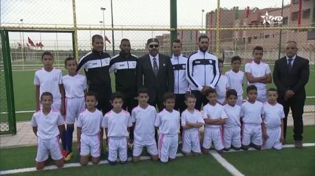 Video : S.M. le Roi inaugure à Marrakech deux projets sportifs de proximité à forte valeur sociale