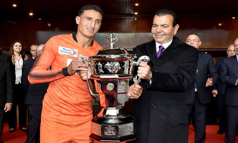 S.A.R. le Prince Moulay Rachid préside la finale de la Coupe du Trône de football, saison 2017-2018