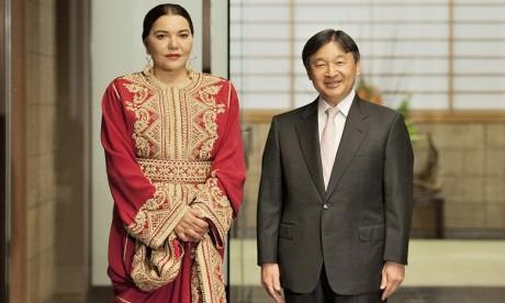 Video : S.A.R. la Princesse Lalla Hasnaa s'entretient à Tokyo avec le Prince héritier du Japon