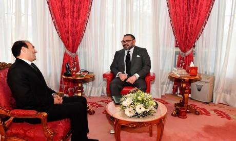 S.M. le Roi reçoit M. Mohamed Benalilou et le nomme au poste de Médiateur