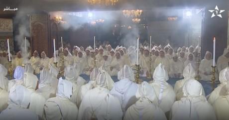 S.M. le Roi préside une veillée religieuse en commémoration du 20e anniversaire de la disparition de feu S.M. Hassan II