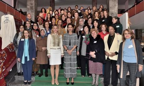 S.A.R. La Princesse Lalla Meryem préside la cérémonie d'inauguration du Bazar international de Bienfaisance du Cercle diplomatique de Rabat