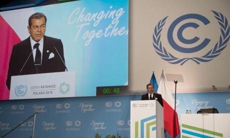 Video : S.M. le Roi Mohammed VI adresse un message à la COP24 réunie en Pologne