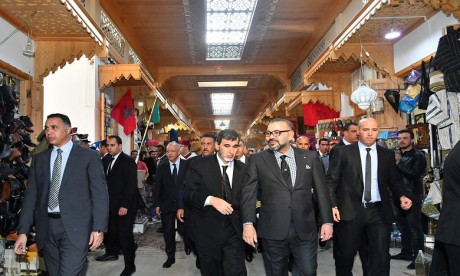 Video : Forte impulsion Royale aux programmes de réhabilitation et de mise en valeur de l'ancienne médina de Rabat