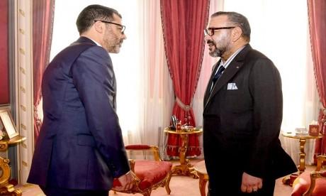 """Video : S.M. le Roi reçoit le nouveau directeur général du Fonds """"Ithmar Capital"""""""