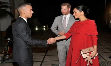 Video : S.A.R. le Prince Héritier Moulay El Hassan reçoit à Rabat le Prince Harry d'Angleterre et son épouse