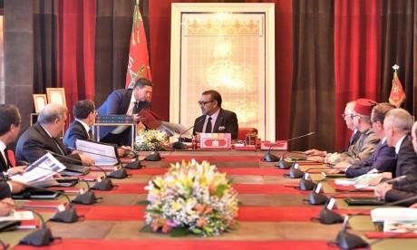 Video : S.M. le Roi préside une séance de travail consacrée au programme de mise à niveau de l'offre de Formation professionnelle