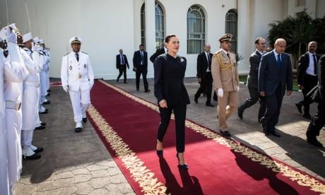 """S.A.R. la Princesse Lalla Hasnaa préside à Témara la cérémonie d'inauguration du Centre de santé urbain """"Massira II"""" après sa rénovation"""